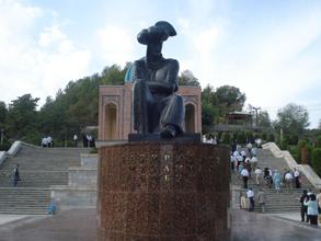 Monument to Zahiriddin Babur